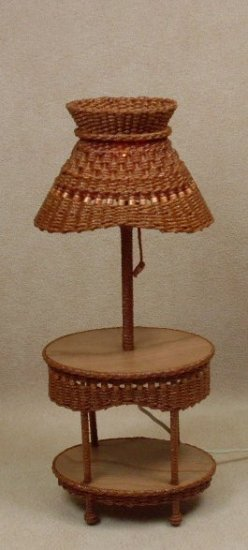 Molly's Table Lamp in Cherry - Click Image to Close