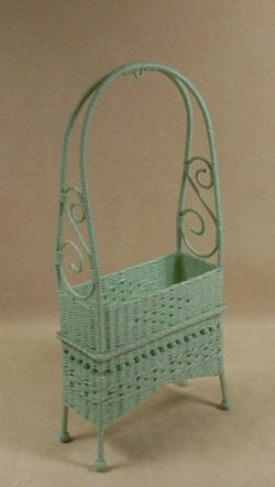 Molly's Arbor Planter in Mint Green
