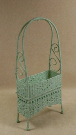 Molly's Arbor Planter in Mint Green - Click Image to Close