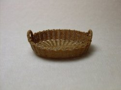 A Small Oval Basket