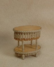 "1/2"" Carolina Two Tier End Table"