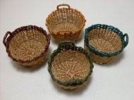 Carolina Round Wicker Basket