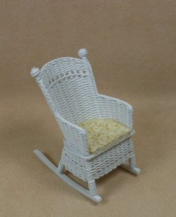 Child's Straight Back Rocking Chair