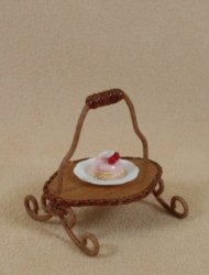 English Cake Stand with 1 Tier