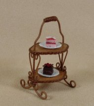 English Cake Stand with 2 Tiers
