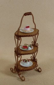 English Cake Stand with 3 Tiers