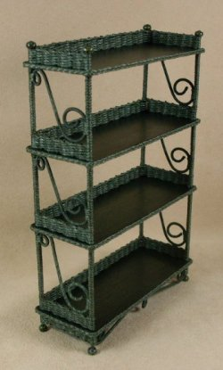 Etagere' in Emerald Green