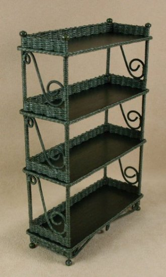Etagere' in Emerald Green - Click Image to Close