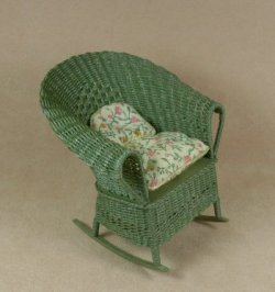 Classic Porch Rocking Chair in Fern Green