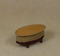"1/2"" Carolina Oval Coffee Table"