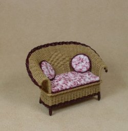 "1/2"" Carolina Loveseat"