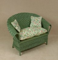 Classic Loveseat in Fern Green