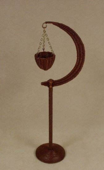 Moon Stand in Mahogany - Click Image to Close