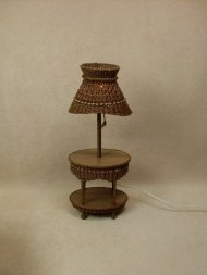 Molly's Table Lamp in Walnut