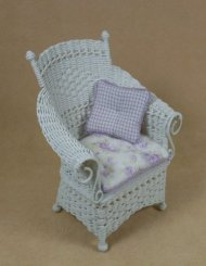 Molly's Porch Chair in White