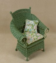 Molly's Porch Chair in Fern Green