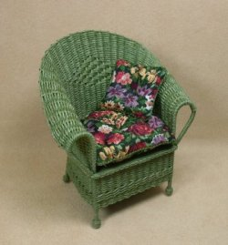 Classic Porch Chair in Fern Green
