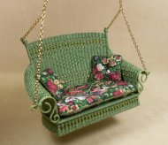 Molly's Porch Swing in Fern Green
