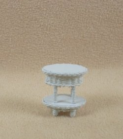 "1/4"" Two Tier End Table"
