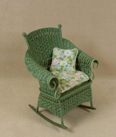 Molly's Rocking Chair in Fern Green - Click Image to Close