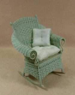 Molly's Rocking Chair in Mint Green