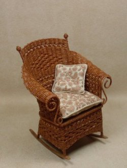 Molly's Rocking Chair in Cherry