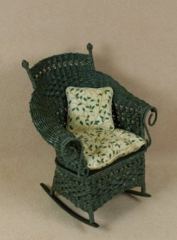 Molly's Rocking Chair in Emerald Green