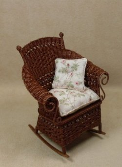 Molly's Rocking Chair in Mahogany