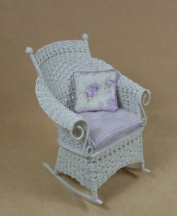 Molly's Rocking Chair in White