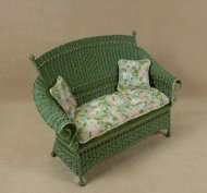 Molly's Settee in Fern Green