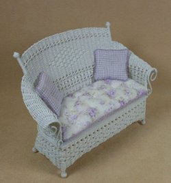 Molly's Settee in White
