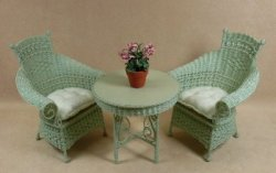 Molly's Tea for Two Set in Mint Green