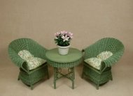Classic Tea for Two Set in Fern Green