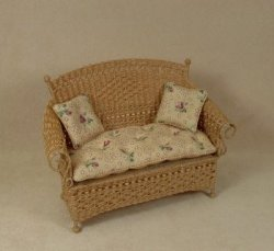 Molly's Settee in Honey