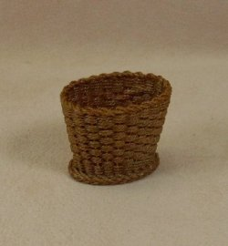 Waste Basket with Triple Weave