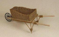 Wheelbarrow in Antique Natural