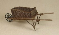 Wheelbarrow in Walnut