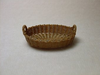 A Small Oval Basket - Click Image to Close