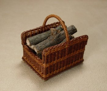 Firewood Basket - Click Image to Close