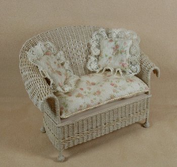 Classic Loveseat in Whitewashed - Click Image to Close
