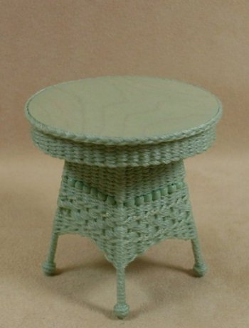 Molly's Round End Table - Click Image to Close
