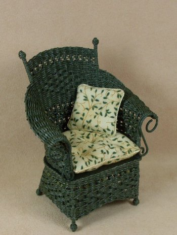 Molly's Porch Chair in Emerald Green - Click Image to Close