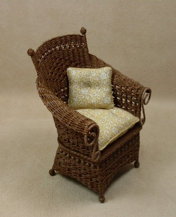 Molly's Porch Chair in Walnut - Click Image to Close