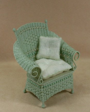 Molly's Porch Chair in Mint Green - Click Image to Close
