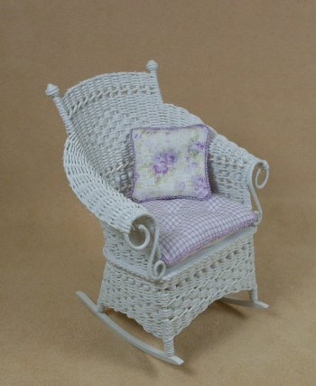 Molly's Rocking Chair in White - Click Image to Close