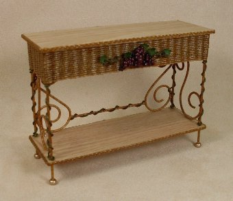 Vineyard Serving Table - Click Image to Close