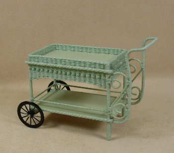 Molly's Teacart with Beads in Mint Green - Click Image to Close